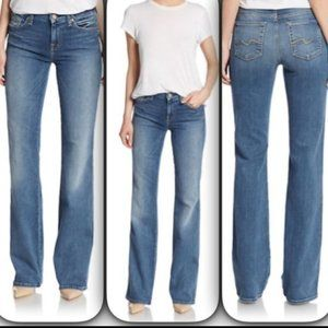 7 For All Mankind Bootcut Jeans Rhinestone 26